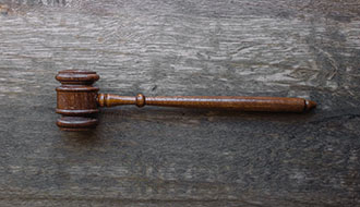photo of a gavel